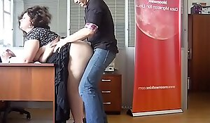 Horny BBW Milf drilled at the assignation by the boss