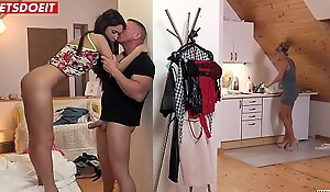 Step Daughter Angie Moon Will Call to mind For Daddy'_s Cock!