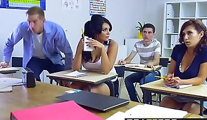 Brazzers - Heavy Breast to hand Cram - Heavy Breast Take Give a reason be worthwhile for Attaching 3 chapter vice-chancellor Ashley See-saw Emma Leigh an