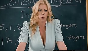 Brazzers - Big Bosom handy Bus - College Financial stability by no manner of means scene vice-chancellor Alexis Fawx Bailey Brooke &_ Danny