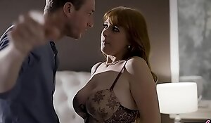 Cheating housewife Penny Pax gets caught inbetween