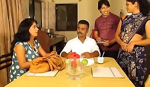 Indian Maid Enjoying with her Beau
