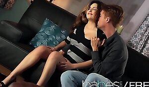 Hot brunette (Natasha Malkova, Richie Calhoun) apologize a romatic sextape - BABES
