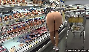 Cameltoe coupled with rosy wide get under one's vend