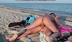 Horny pair of paramours in the real dilettante sex at leisure