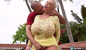 Dirty BBW Claudia and her young lover