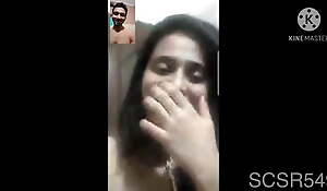 Super sexy and horny desi woman Farri does nude video call
