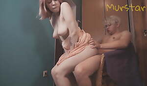 She let herself get fucked by a neighbor for a roll of toilet paper