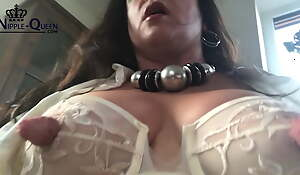 BIG THICK MONSTER NIPPLES IN THE OFFICE