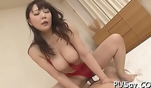 Riding unsparing cocks is what she loves
