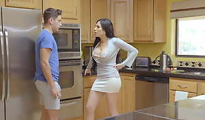 momsteachsex, first time threesome is with stepmom!