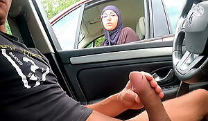 I pull out my cock on this highway area face this Muslim !!