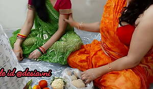 desi Poonam selling vegetable fucked by the buyer, clear Hindi