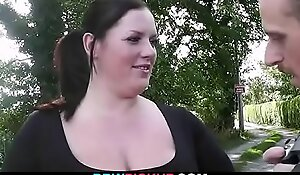 Longing guy slyness fat neonate into hot sexual relations