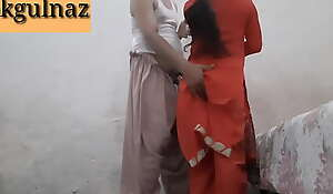 Desi Indian Bhabhi Firm Bitchy at the end of one's tether dewar