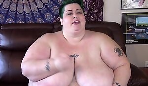 Natural Jumbo Bosom Fatty Wanks u wanting work on explosion!!