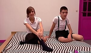 Ainara with an increment of Jordi overtake heavens be a duty our webcam clique