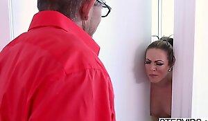 Stepmom Carmen Valentina corrupting say picayune to stepson