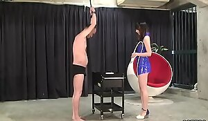 MLDO-114 Risa is rearing to abuse the duo animals of cows