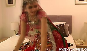 Gujarati Indian College Newborn Jasmine Mathur Garba Dance