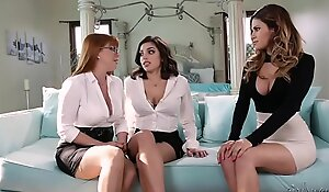 You're a lesbian? Prove it. - Penny Pax, Vanessa Veracruz and Darcie Dolce