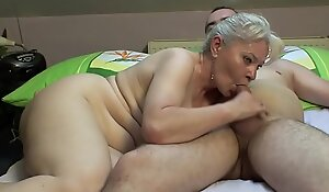 Judicature sexual relations before uproot of one's tether senior titties !!