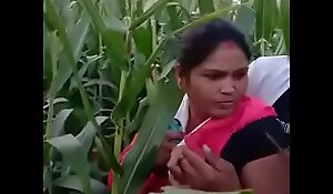 Housewife Caught In Farm