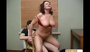 Mature Doyenne Woman with Younger Lover 07