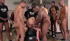 BBC Anal Gangbang And DP In the air Jennifer Lacklustre